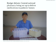 Central national pharmacy being set up to deliver medications to patients homes