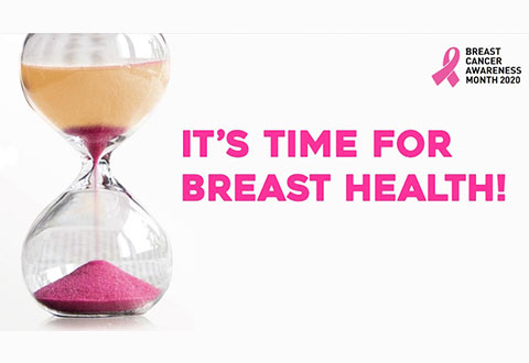 Breast Cancer Awareness Month 2020: Pandemic Or Not, 'It's Time For Breast Health'