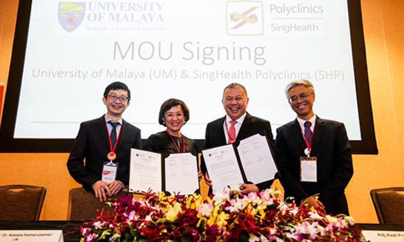 未来将与两所大学共享资源,合作改善病患护理。