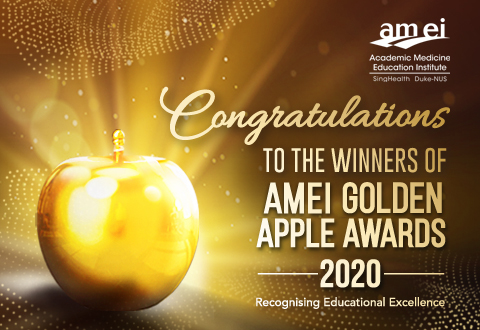 Meet the AM•EI Golden Apple Award 2020 winners!