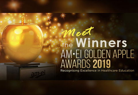 Meet the winners of this year's AM•EI Golden Apple Awards