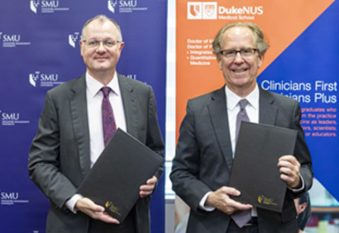 SMU and Duke-NUS launch new medicine pathway to nurture future leaders of healthcare